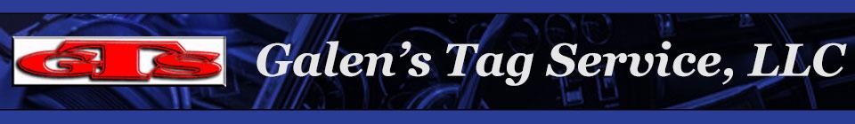 Galen's Tag Service, LLC